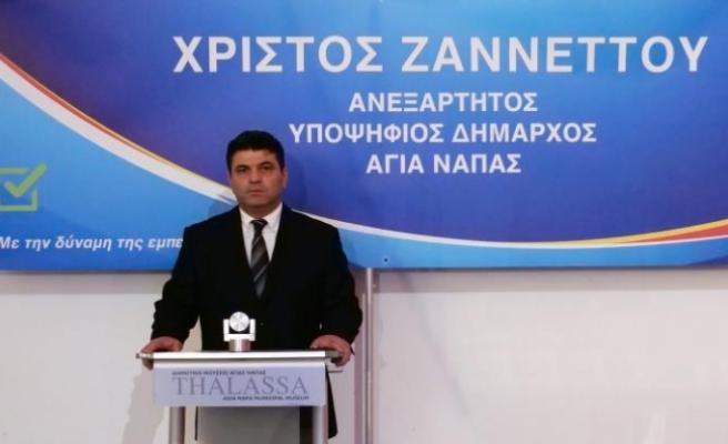 Αy. Napa'nın yeni belediye başkanı oldu