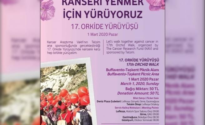 17. Orkide Yürüyüşü'ne davet