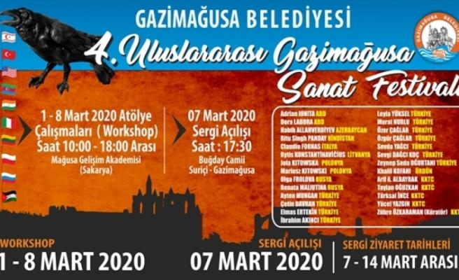 4. Uluslararası Gazimağusa Sanat Festivali 1-8 Mart