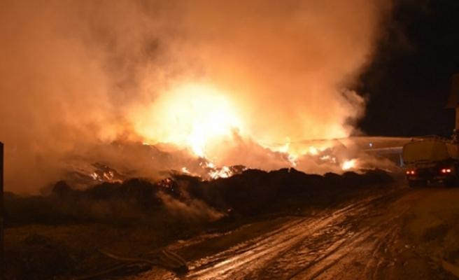 Adana'daki fabrika yangını 3 gündür söndürülemiyor