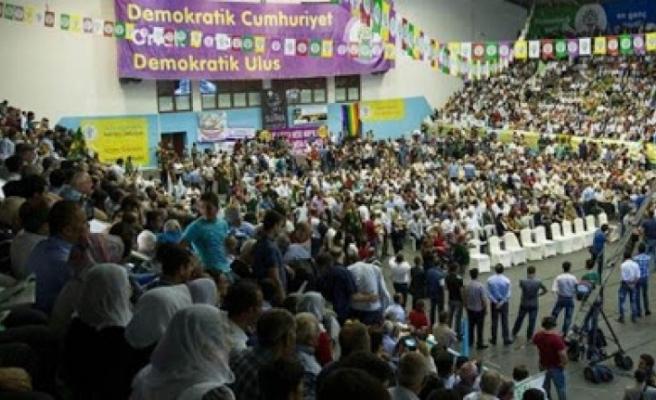 AKEL HDP Kongresine Katıldı