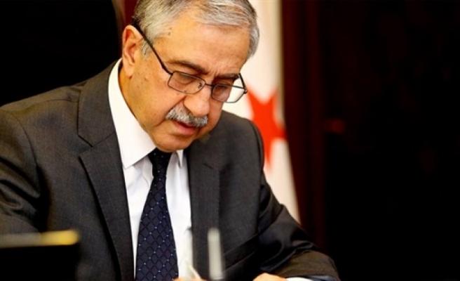 Akıncı'dan Türkiye'ye başsağlığı mesajı