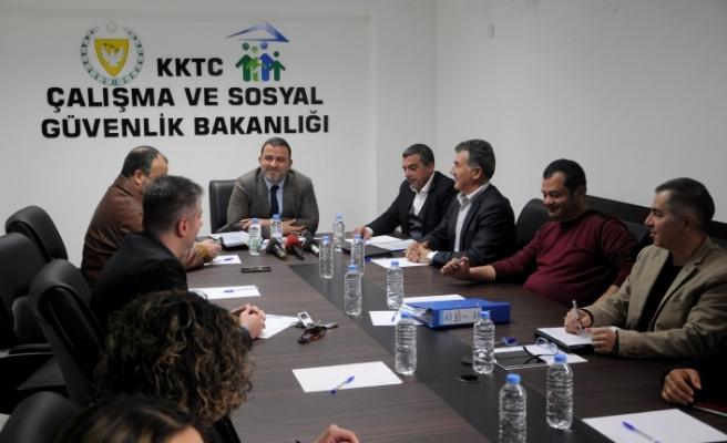 Asgari Ücreti Saptama Komisyonu toplandı