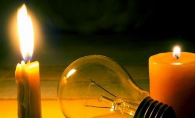 Aslanköy'de elektrik kesintisi