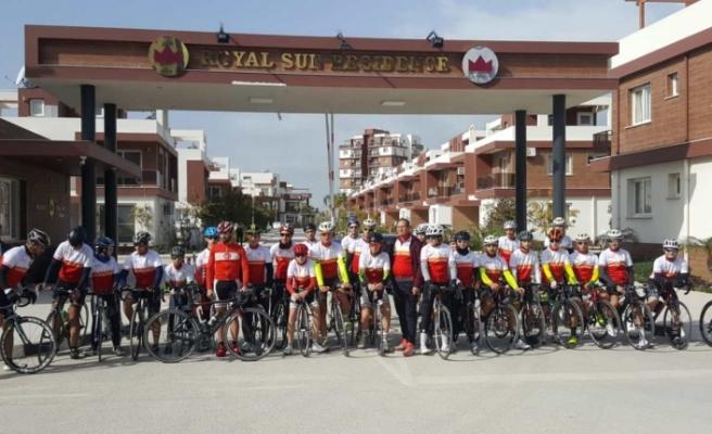Bisikletcilerimiz Alanya'da yarışacak