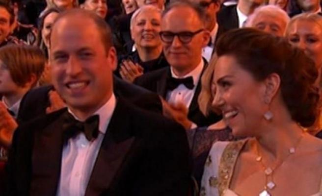 Brad Pitt'in Meghan Markle göndermesi Prens William ve Kate Middleton'ı kahkahaya boğdu