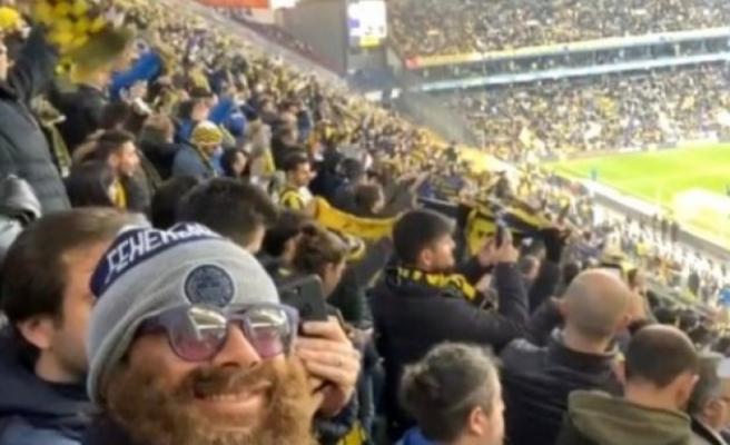 Diego Lugano, Fenerbahçe-Galatasaray derbisini kılık değiştirerek tribünden izledi