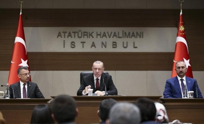 """Erdoğan: """"Türkiye cevabını misliyle verdi"""""""