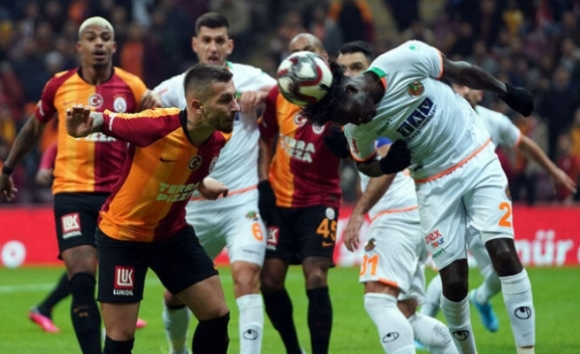 Galatasaray'ın çabası yetmedi