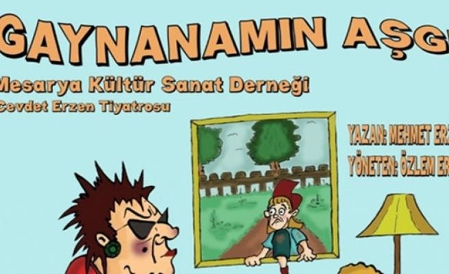 """""""Gaynanamın Aşgı"""" isimli oyunu, Lefkoşa Atatürk Kültür Merkezi'nde sahneleniyor"""