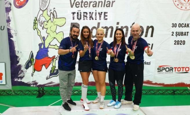 KKTC Badmintonculardan Türkiye'de büyük başarı