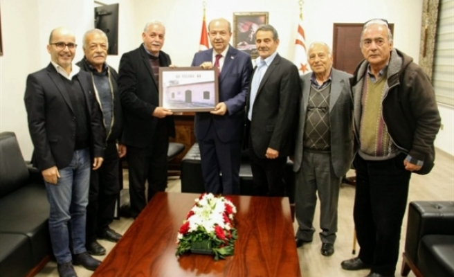 Tatar, Silugulular Dayanışma Derneği heyetini kabul etti