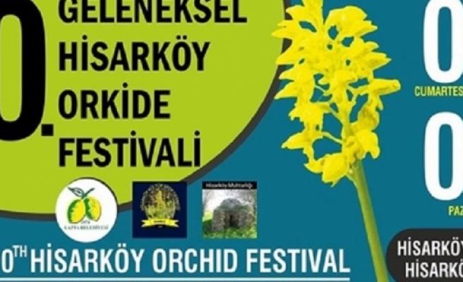 10. Geleneksel Hisarköy Orkide Festivali, 7-8 Mart tarihlerinde gerçekleştirilecek