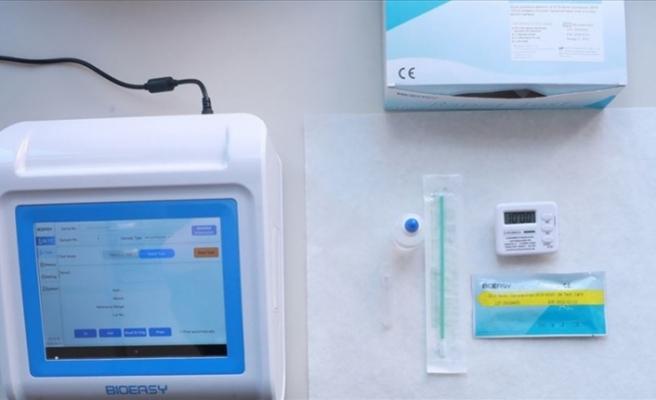 15 dakikada sonuç alınabilen koronavirüs hızlı tanı kiti