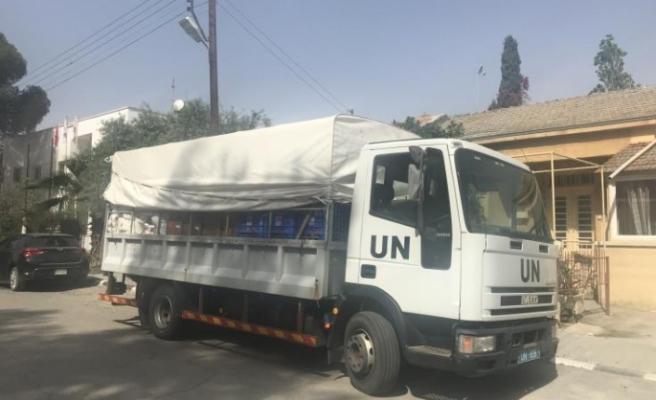 Adaya yeni gelen BM personeli 14 günlük tecritte tutuluyor