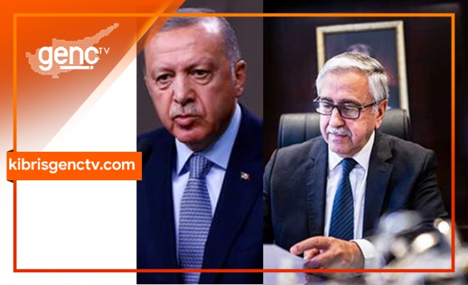 Akıncı'dan Erdoğan'a mektup