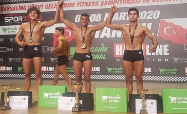 Arif Tuğcan Kondoz Türkiye şampiyonu