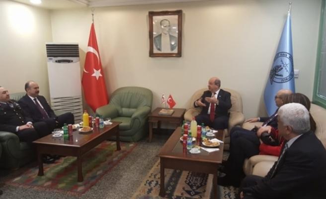 Başbakan Ersin Tatar Adana'da
