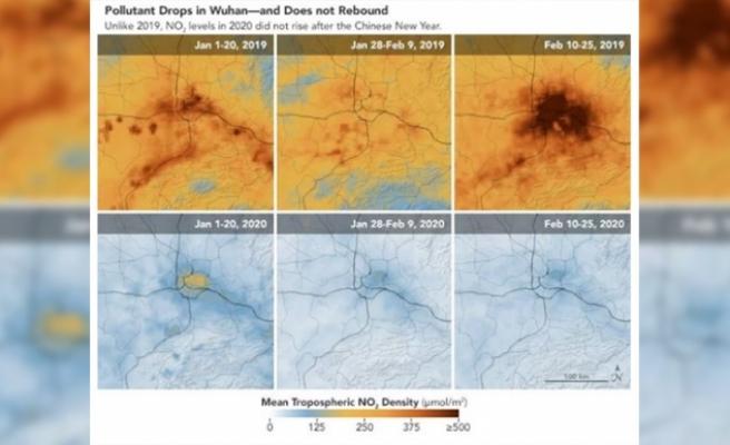 Corona virüsü, hava kirliliğinin azalmasını sağladı