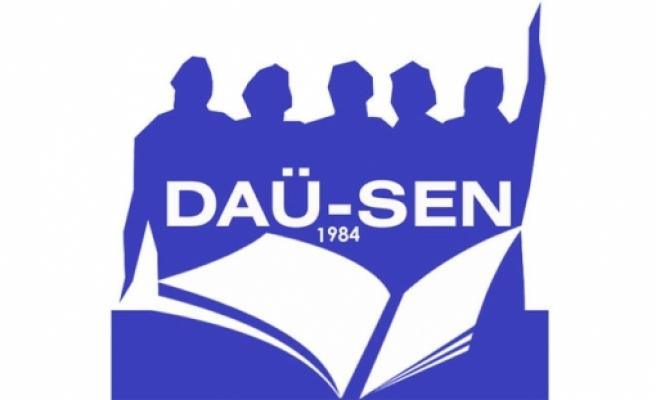 DAÜ-SEN rektör seçimlerinde taraf olmayacağını açıkladı
