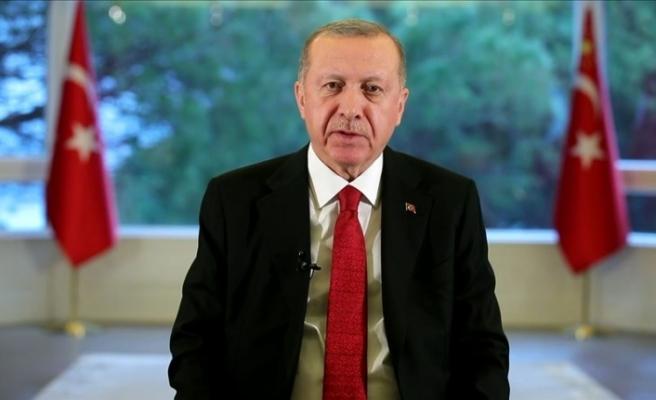 """Erdoğan: """"Koronavirüs salgınından olabilecek en az hasarla çıkacağız"""""""