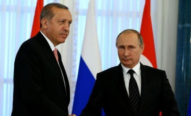 Erdoğan ve Putin bugün Moskova'da görüşecek
