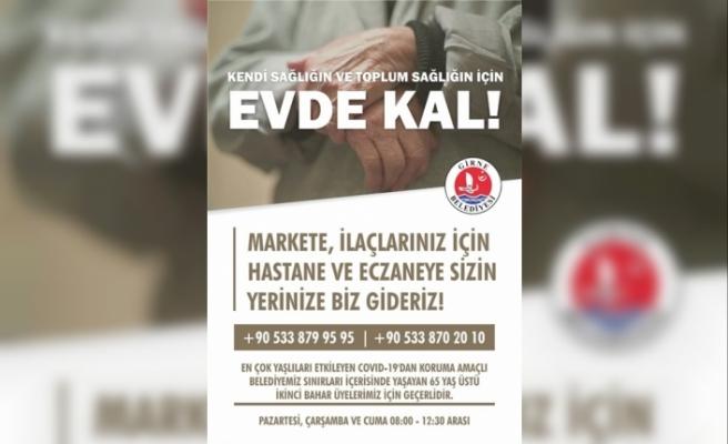 Girne Belediyesi,İkinci Bahar üyeleri için hizmet başlattı