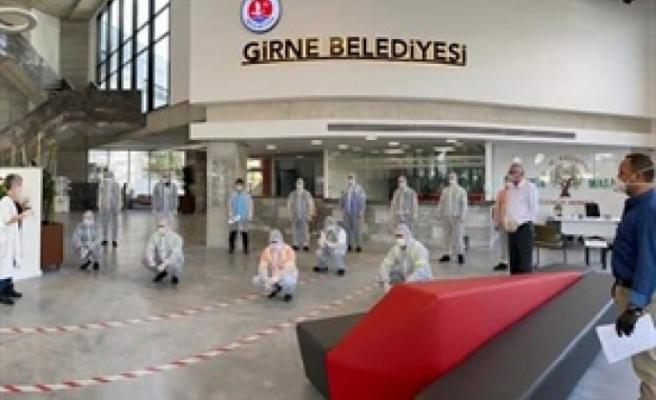 Girne'de iş sağlığı güvenliği ve eğitimi çalışmaları