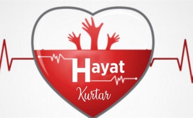 Kan bağışı kampanyası için çağrı