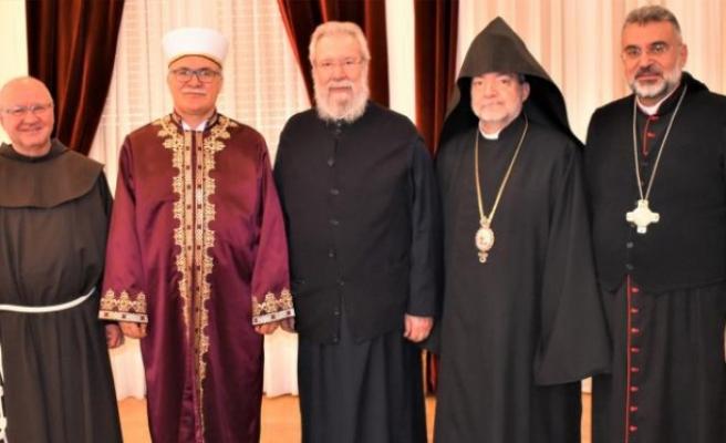 Kıbrıs'ın dini liderlerinden çağrı