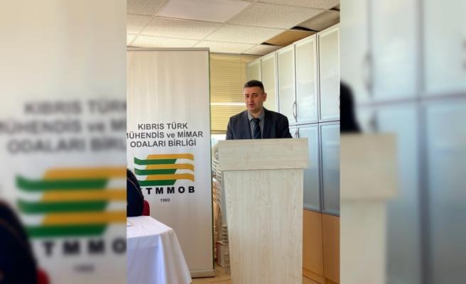 Kimya Mühendisleri Odası Başkanlığına yeniden Halil Erensu seçildi