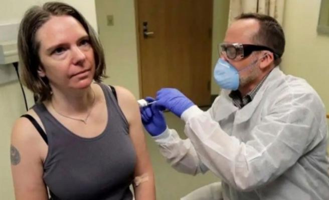 Korona virüsü için geliştirilmeye başlanan aşı ilk defa denendi