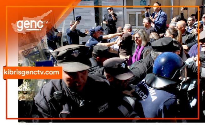 Rum Polisi'nin tavrına tepkiler sürüyor