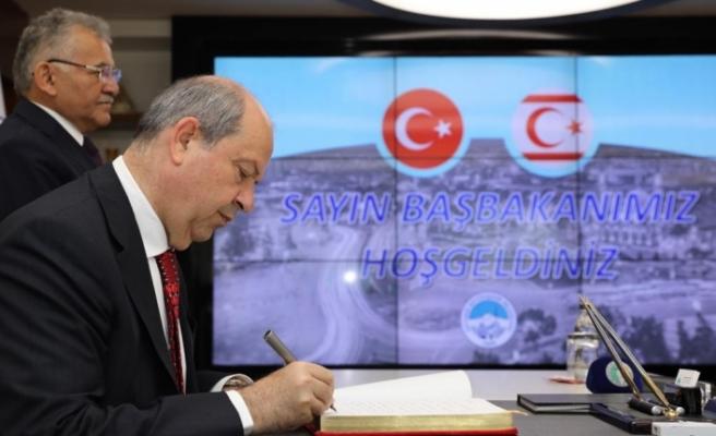 Tatar'dan Kayseri'de ziyaretler