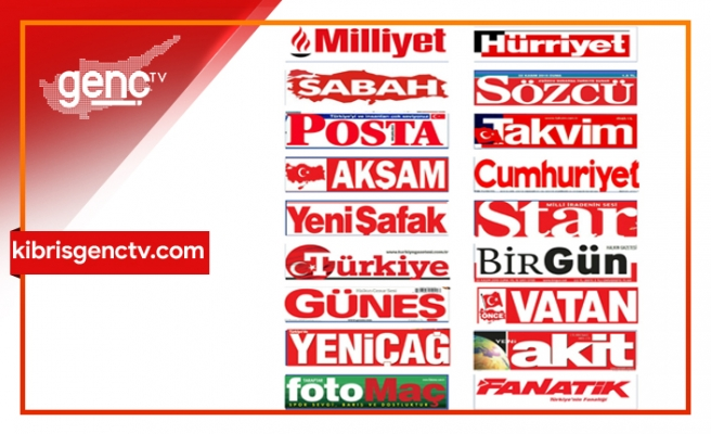 Türkiye Gazetelerinin  Manşetleri - 2 Mart 2020