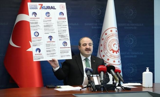 """Türkiye Sanayi Bakanı: """"Fırsatçılık yapanlar bundan sonra hiçbir şekilde desteklerden yararlanamayacak"""""""