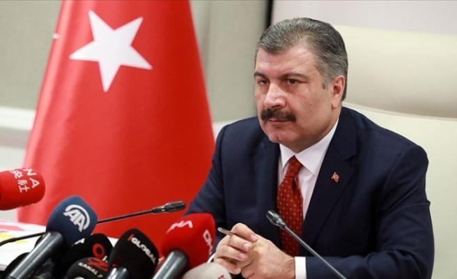 Türkiye'de koronavirüsten can kaybı 59 oldu