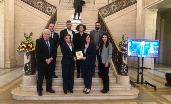 YAGA heyeti Kuzey İrlanda'da bazı üst düzey temaslarda bulundu