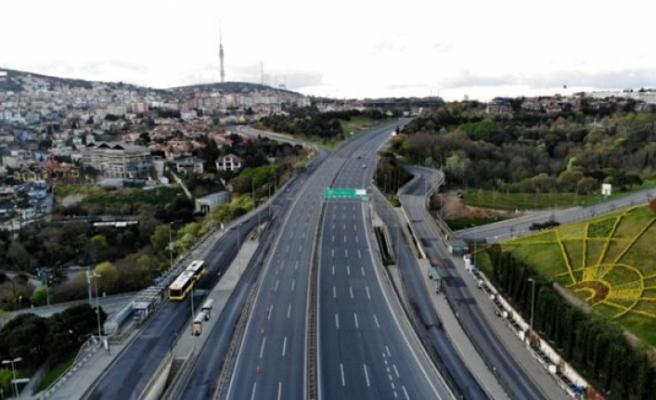 4 günlük yasak başladı! İstanbul bu sabah, böyle görüntülendi