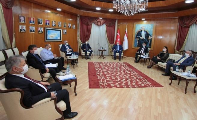 Bakanlar Kurulu, Şeref Salonu'nda toplandı
