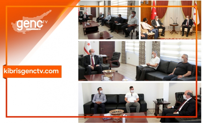 Başbakan'dan açılma öncesi özel sektör temsilcileri ile yoğun mesai