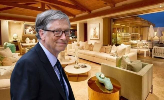 Bill Gates'in 43 milyon dolarlık karantina evi ilk kez görüntülendi