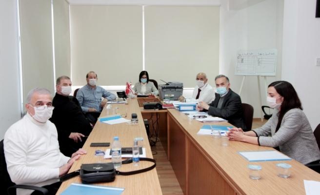 Covid 19 Koordinasyon Konseyi Dr. Sibel Siber'in başkanlığında toplandı