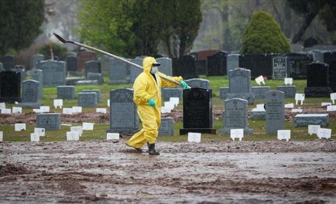 Dünya genelinde can kaybı 200 bini geçti