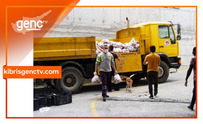 Girne bölgesinde duyarlı iş insanlarının yardımları devam ediyor
