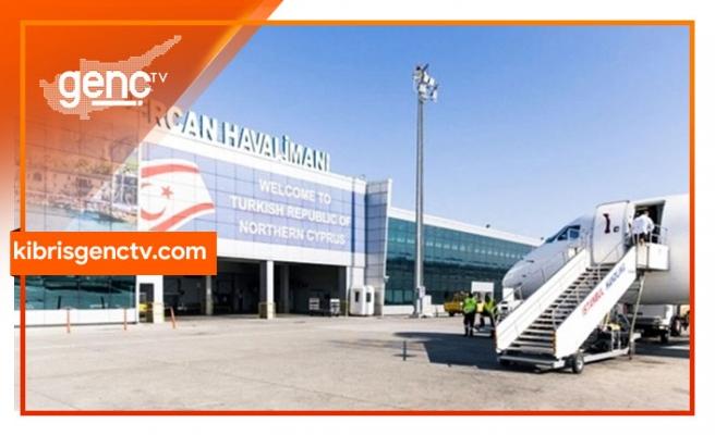 İlk uçağın bugün  Ercan'a inmesi bekleniyor