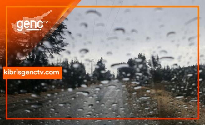 KKTC'ye düşen yağış miktarlarını açıklandı