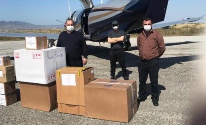 MDP, 2 Bin adet Covid-19 tanı kitini Sağlık Bakanlığı'na teslim etti