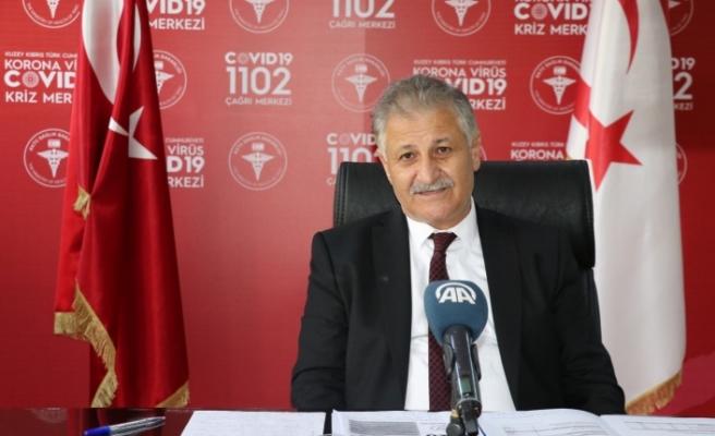 """Pilli: """"KKTC'de 10 gündür pozitif Kovid-19 vakası yok"""""""