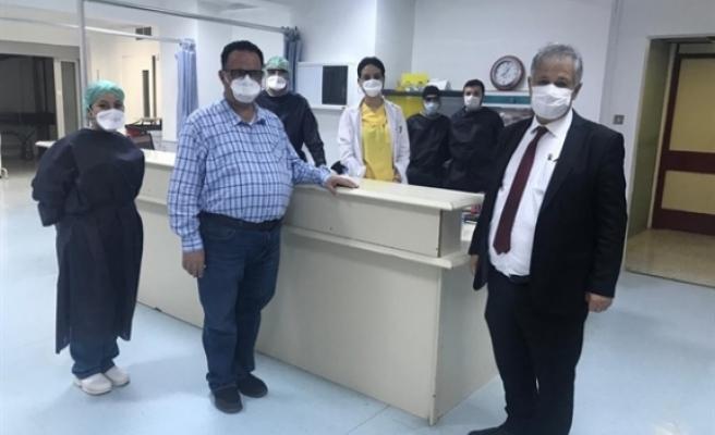 Sağlık Bakanı Pilli, Lefkoşa Devlet Hastanesini ziyaret etti